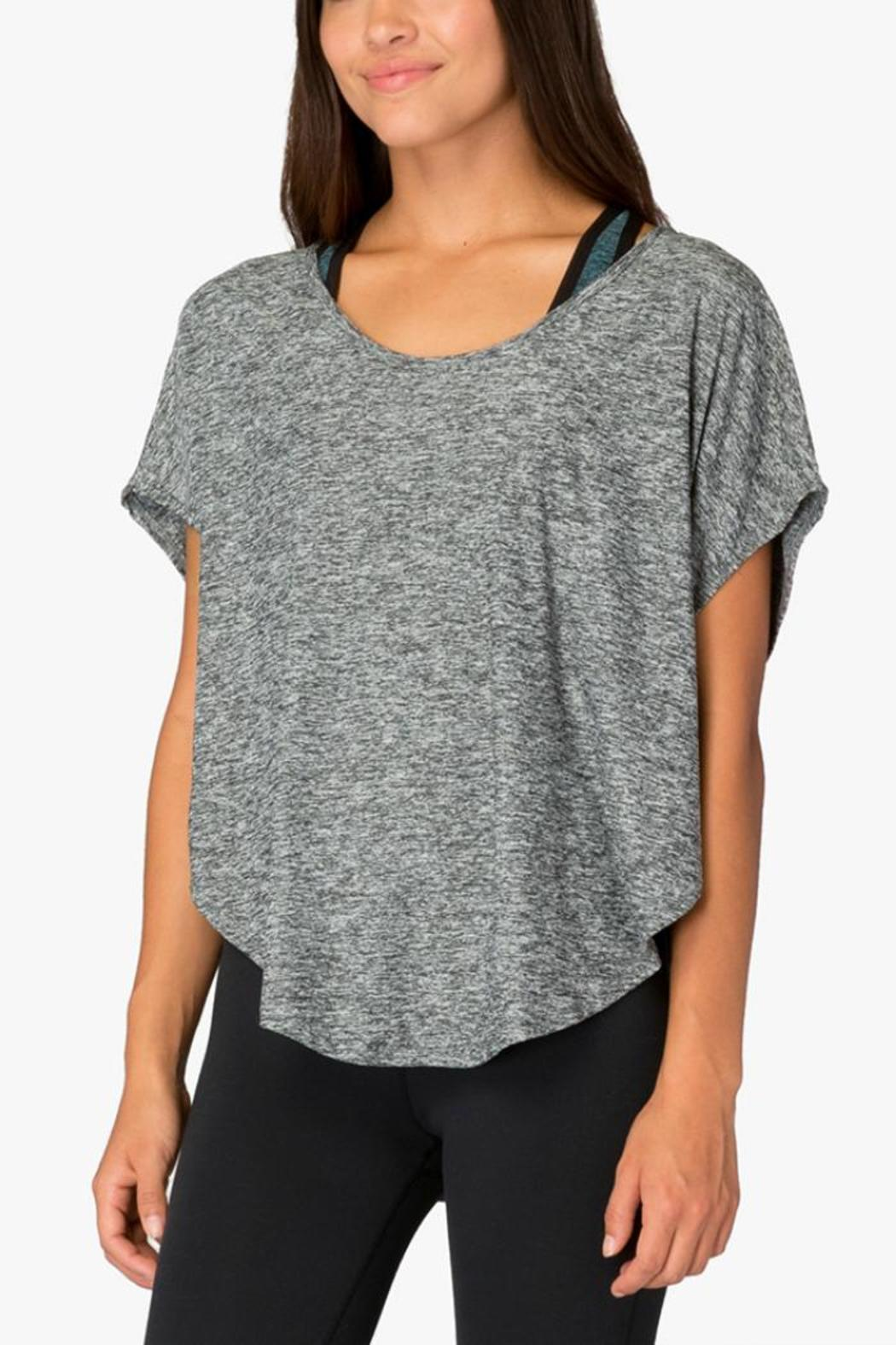 Beyond Yoga Leading Lightweight Tee - Back Cropped Image