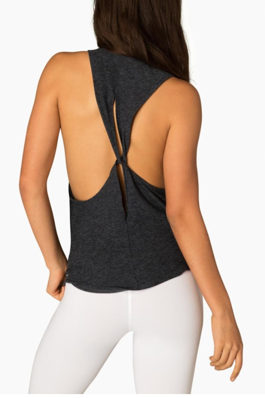 Beyond Yoga Lightweight Looped Tank - Front Full Image