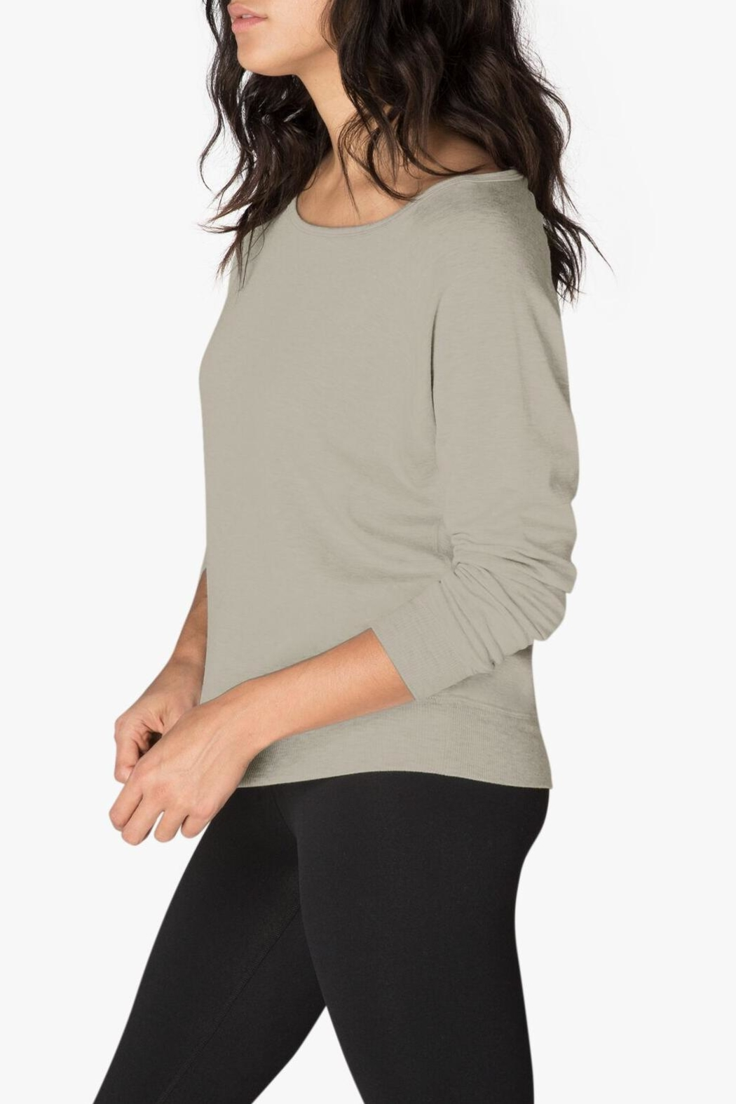 Beyond Yoga Long Sleeve Pullover - Front Full Image