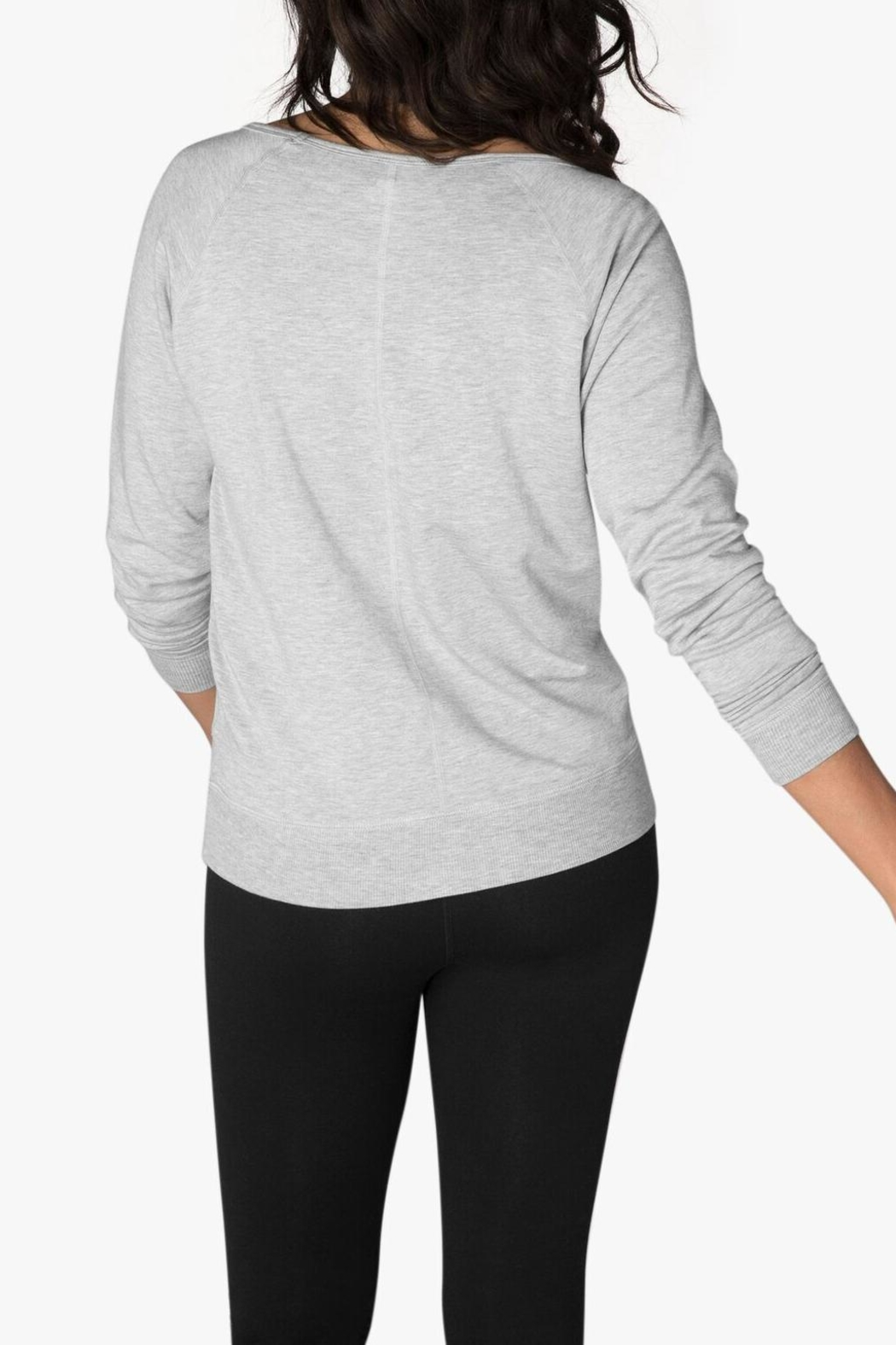 Beyond Yoga Long Sleeve Pullover - Side Cropped Image
