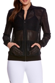 Beyond Yoga Mesh Bomber Jacket - Product Mini Image