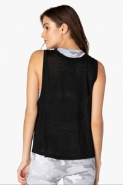 Beyond Yoga Mesh Me Up Tank - Front full body
