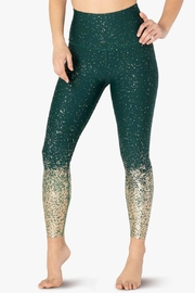 Beyond Yoga Ombre High-Waisted Midi - Front cropped