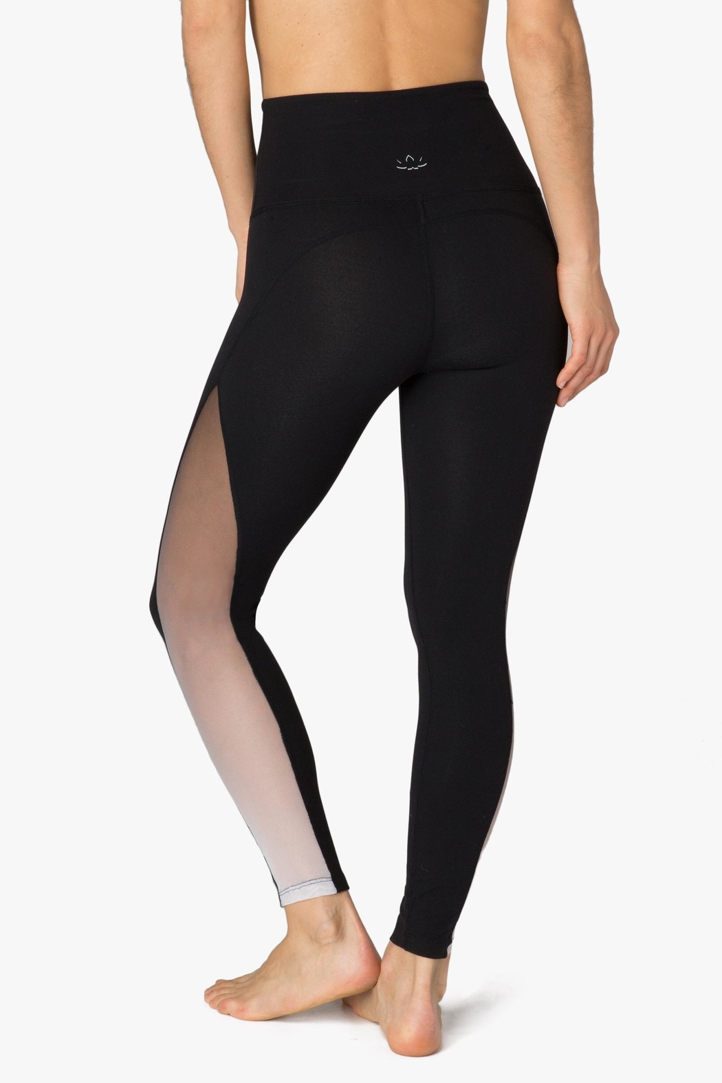 Beyond Yoga Ombre Mesh Legging - Back Cropped Image