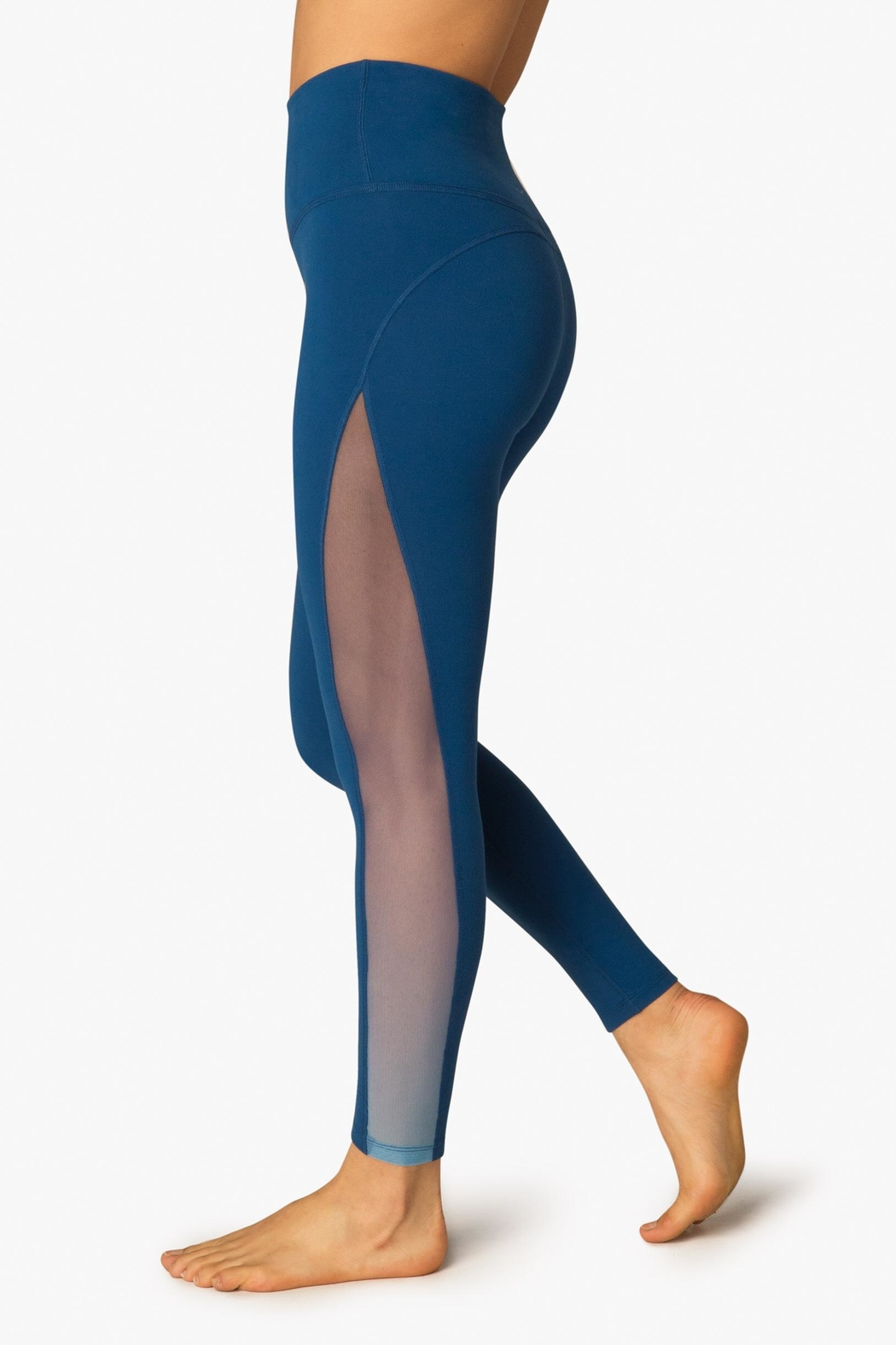 Beyond Yoga Ombre Mesh Legging - Front Cropped Image