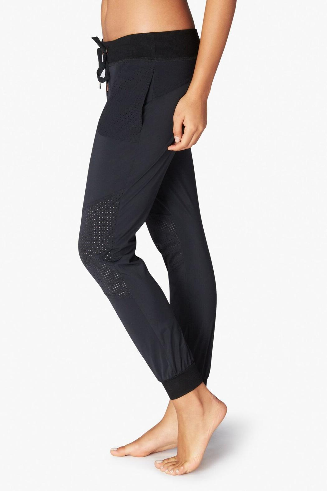 Beyond Yoga Picture Perforated Pant - Front Full Image