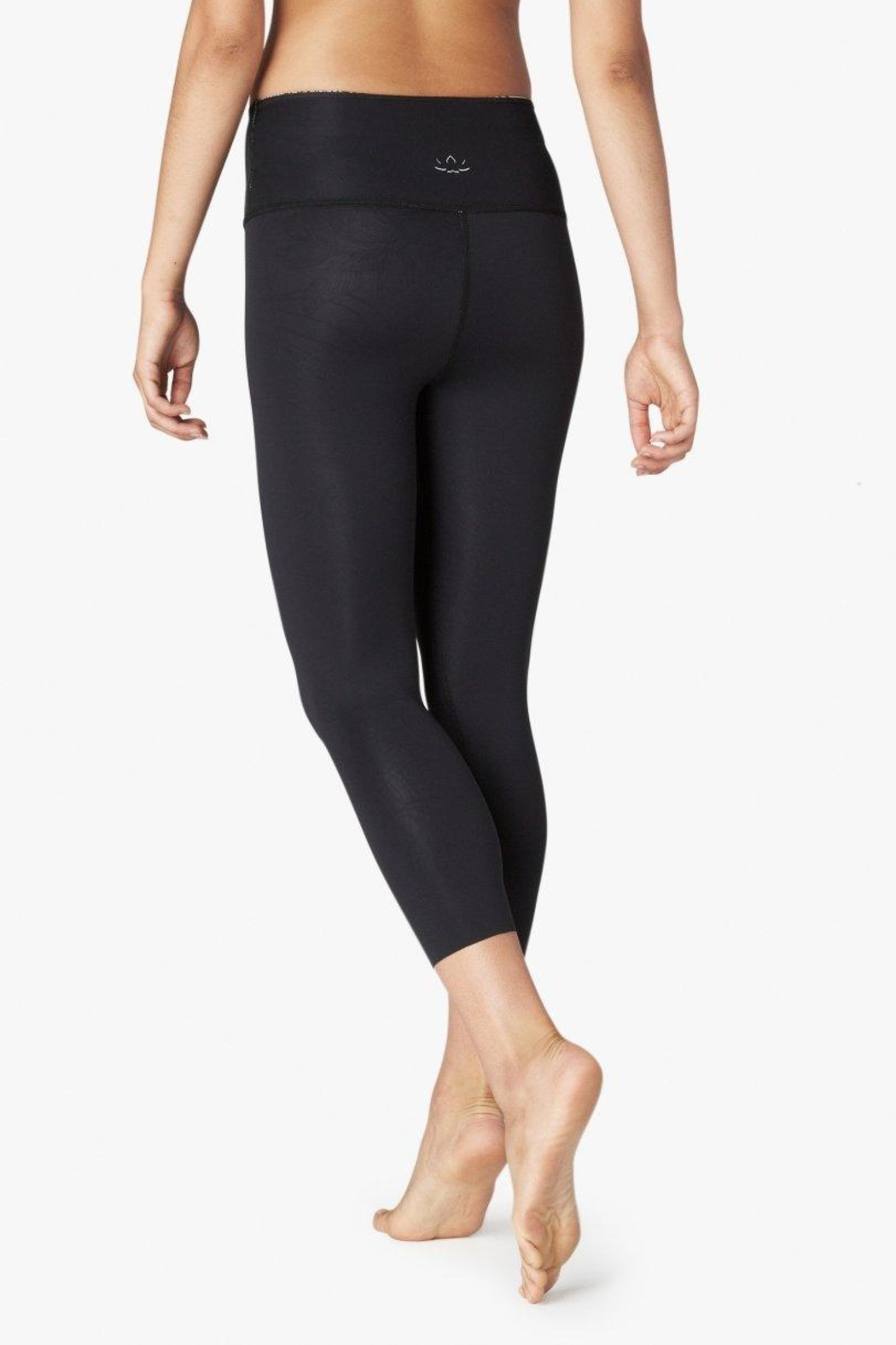 Beyond Yoga Reversible High Waisted Capri - Back Cropped Image