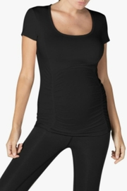 Beyond Yoga Scoop-Neck Maternity Tee - Product Mini Image