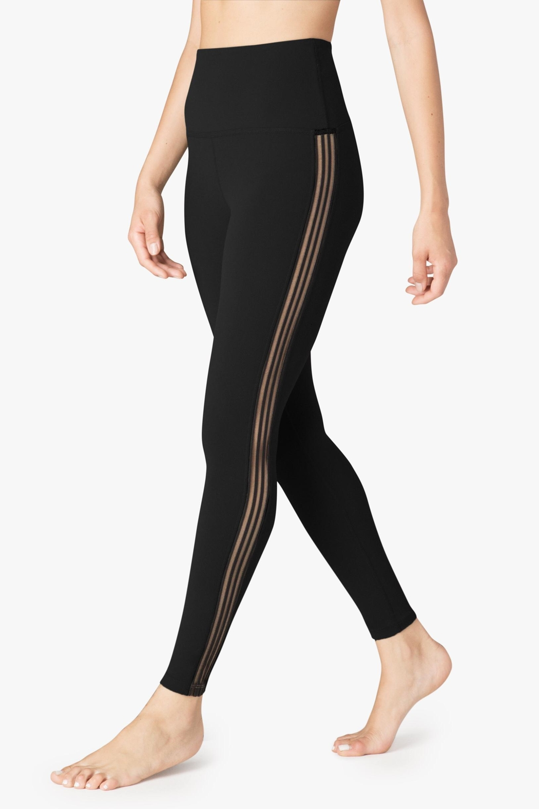 Beyond Yoga Sheer Illusion Legging - Side Cropped Image