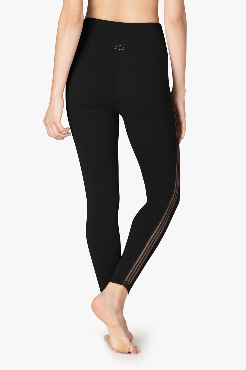 Beyond Yoga Sheer Illusion Legging - Back Cropped Image