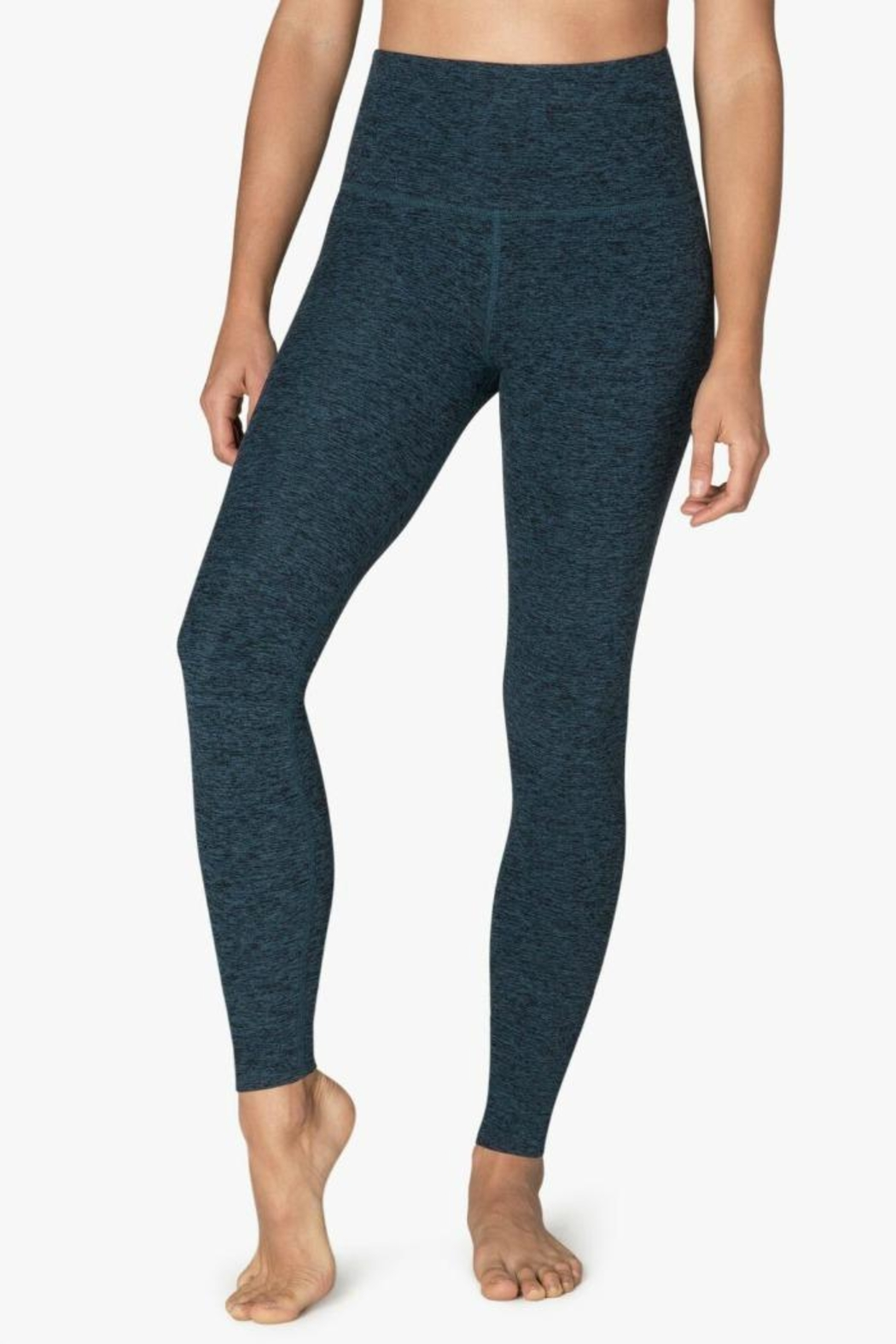 Beyond Yoga Space Dye Leggings - Front Cropped Image