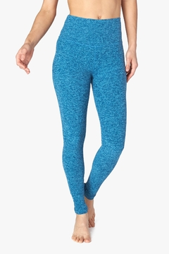 Shoptiques Product: Spacedye Blue Legging