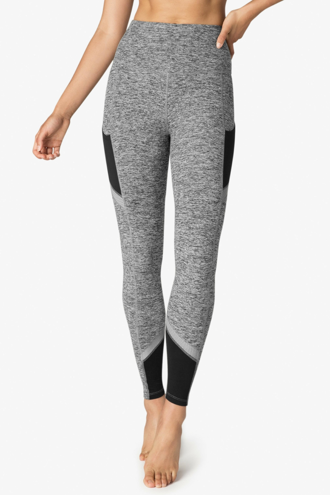 Beyond Yoga Spacedye Highwaist Legging - Front Cropped Image