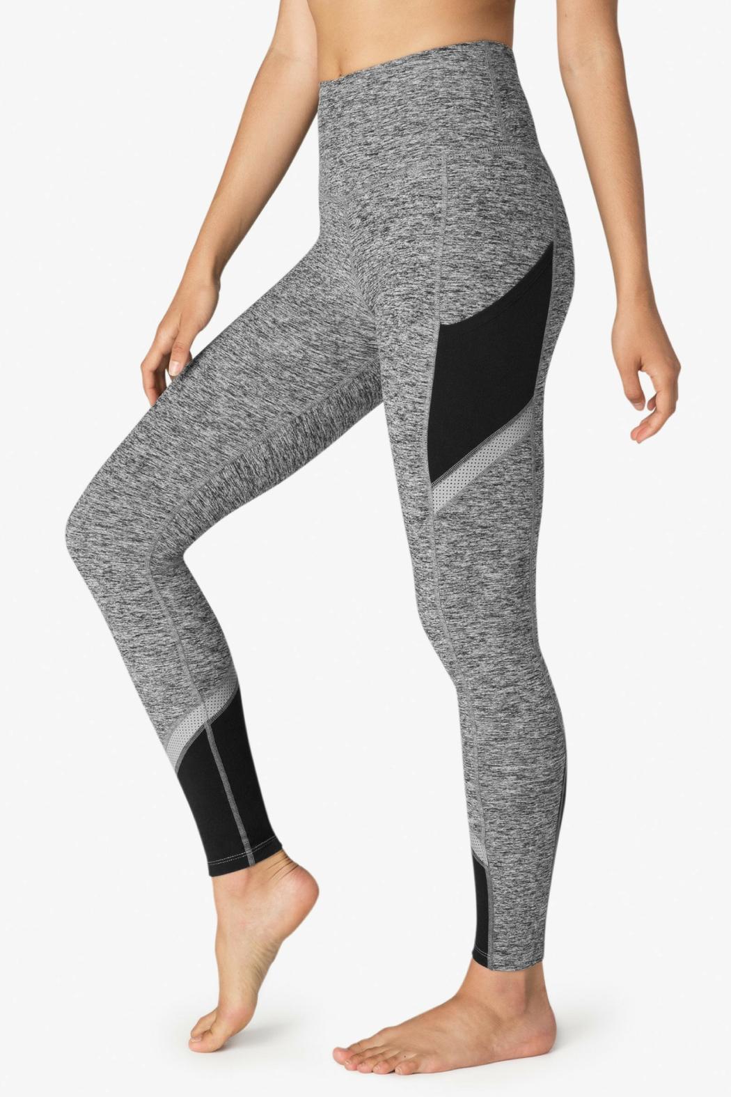 Beyond Yoga Spacedye Highwaist Legging - Side Cropped Image