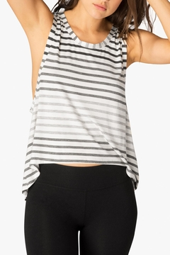 Shoptiques Product: Striped Muscle Tank