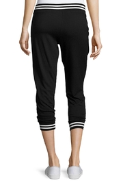 Beyond Yoga Varsity Cropped Joggers - Front full body