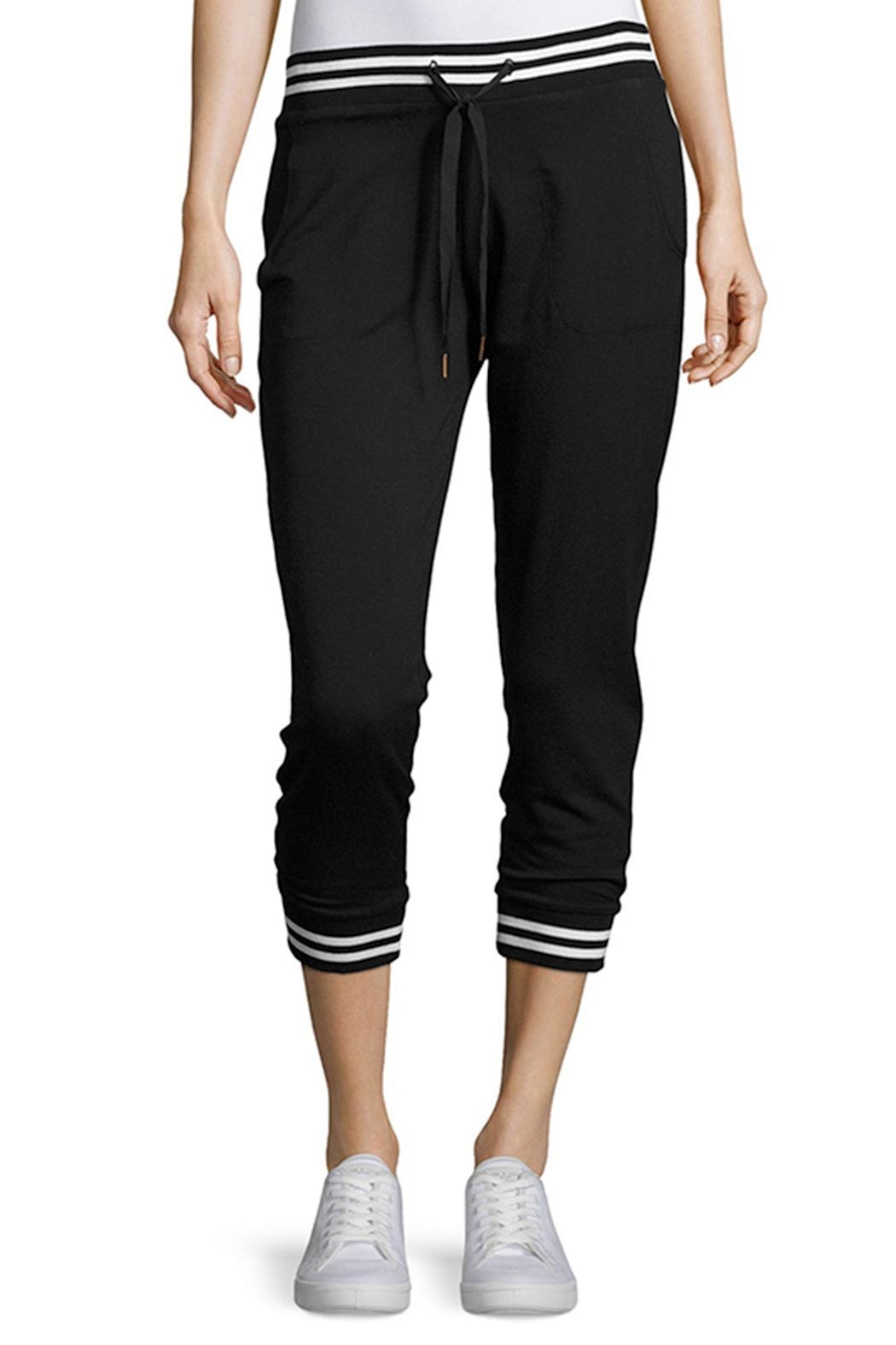 Beyond Yoga Varsity Cropped Joggers - Front Cropped Image