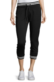 Beyond Yoga Varsity Cropped Joggers - Front cropped