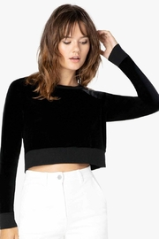 Beyond Yoga Velvet Cropped Pullover - Product Mini Image