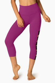 Beyond Yoga Wide Band Capri Leggings - Front cropped