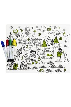 Modern Twist Reusable Numbers Placemat - Product List Image