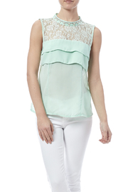 BeYoutiful Mint Lace Tank - Product Mini Image
