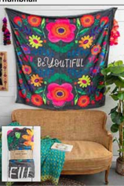 Natural Life BeYOUtiful Tapestry Blanket - Product Mini Image
