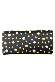 Sondra Roberts Bezel Set Pearl Flap Clutch - Product Mini Image