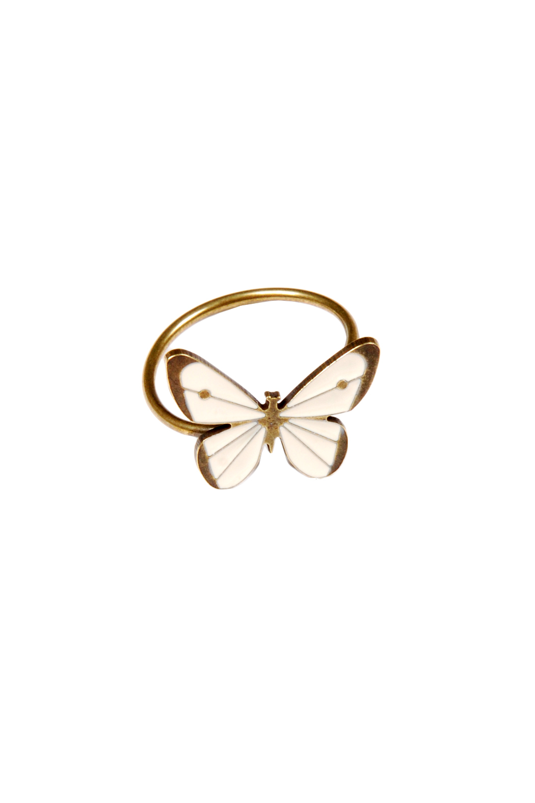 Emmanuelle Biennassis Butterfly-Shaped Adjustable Ring - Main Image