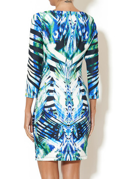 johanne Beck Lola Emerald Tropics Dress - Alternate List Image