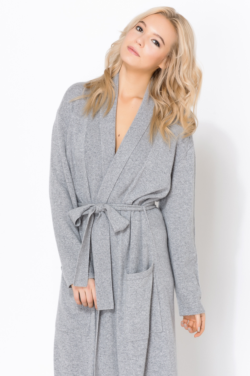 ed7233b859aa Arlotta Cashmere Long Robe from Boston by Lulabelle — Shoptiques