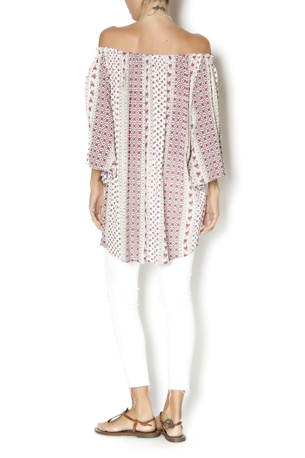 Fashion Fuse Floral Tunic From Connecticut By CHAOS