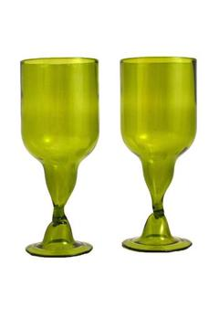 The Green Glass Company Repurposed Goblets - Alternate List Image