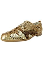 AGL  Bronze Sequin Brogue - Front cropped