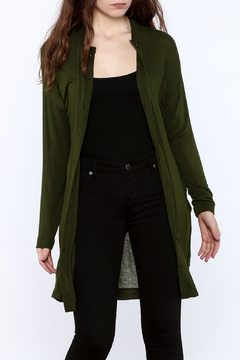 Shoptiques Product: Olive Lightweight Cardigan