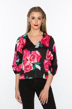 Crosby by Mollie Burch Bianca Gunsnroses Top - Product List Image