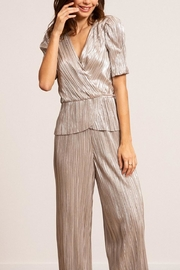 Lucy Paris Bianca Metallic Pant - Front cropped