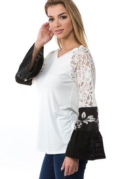 Vava by Joy Hahn Bianca Ruffle Sleeve Shirt - Alternate List Image