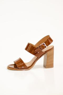 Bianca Di Brown Leather Sandal - Product List Image