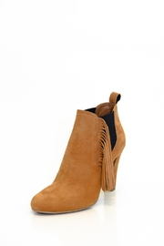 Bianca Di Fringe Ankle Booties - Product Mini Image