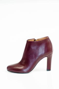 Bianca Di Heeled Leather Booties - Product List Image