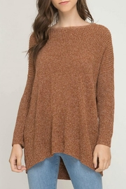 She + Sky Biance Tunic Sweater - Product Mini Image