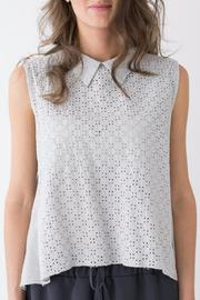 Bianco Concept Store Asymmetric Shaped Blouse - Product Mini Image
