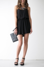 Bianco Concept Store Black Short Jumpsuit - Product Mini Image