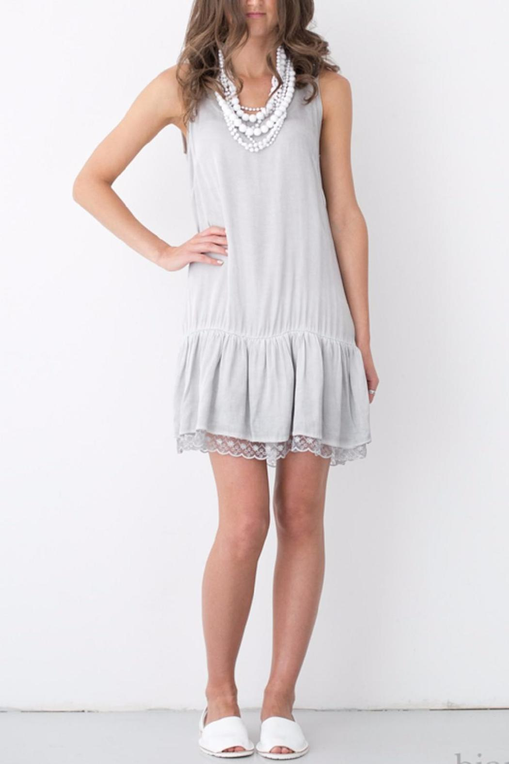 Bianco Concept Store Sundress With Lace - Main Image