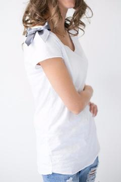 Shoptiques Product: T-Shirt With Bow