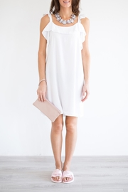 Bianco Concept Store White Ruffle Dress - Product Mini Image
