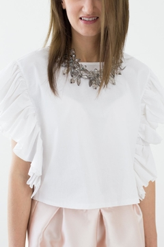 Bianco Concept Store White Top - Product List Image