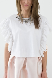 Bianco Concept Store White Top - Side cropped