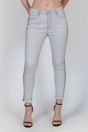 Bianco Jeans Grey Tuxedo Jean - Product Mini Image